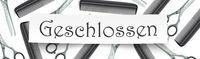 Scissors Combs Paper Geschlossen Banner Header