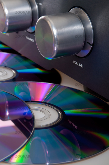 Amplifier and Compact Discs