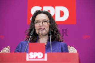 SPD talk about the pros and cons of coalition