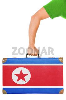 The North Korea flag