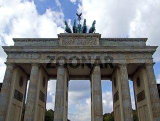 Brandenburger Tor Deutschland Berlin / Brandenburg Gate Germany Berlin