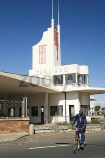 fiat tagliero italian art deco building in asmara