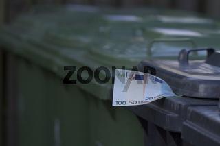 Symbolbild Müllentsorgungskosten
