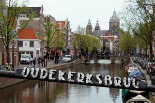 Oudekerksbrug in Amsterdam