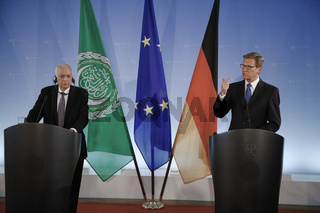 Westerwelle meets Al Arabi in Berlin.