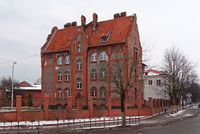Old barracks in Baltiysk