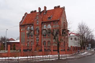 Old barracks in Baltiysk