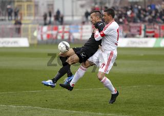 Budapest Honved vs. DVSC-TEVA OTP Bank League football match