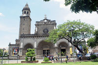 Cathedral in Manila