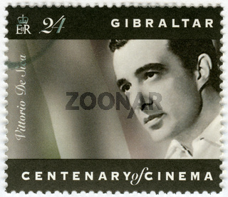 GIBRALTAR - 1995: shows Vittorio De Sica (1901-1974), director, actor