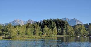 der Schwarzsee bei Kitzbuehel