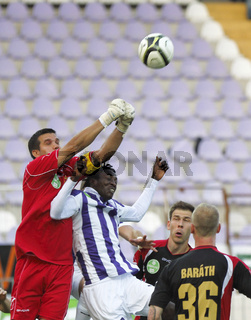 Ujpest vs. Honved OTP Bank League football match
