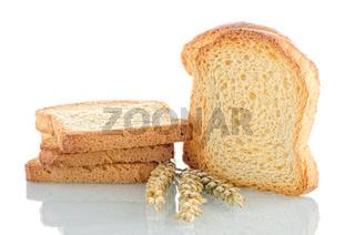 Golden brown toast