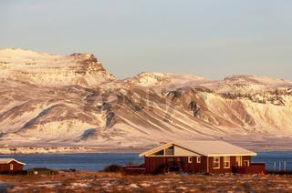Landscape in the Region of Arnarstapi, Snaefellsness Peninsula, Iceland, Europe