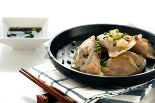 pierogi or dumpling