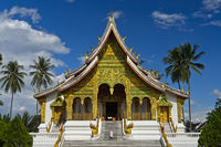 Tempel Haw Pha Bang auf dem Gelände des Königspalasts