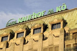 Historic department store facade