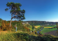 Look in the Altmuehl valley with Arnsberg