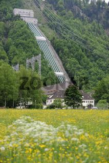 Wasserkraftwerk am Walchensee