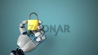 Robot Hand DLock