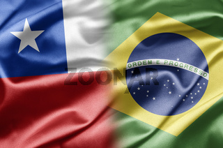 Chile and Brazil