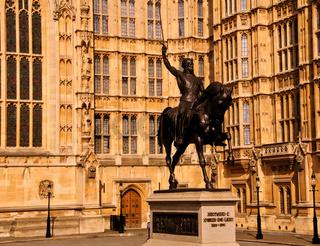 Richard the Lionheart - London - Parliament