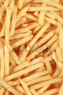 Hintergrund aus Pommes Frites