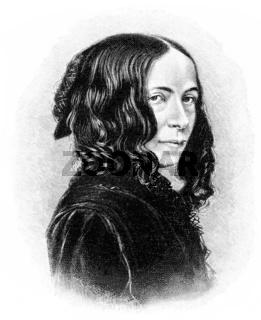 Elizabeth Barrett Browning, an English poet, 1806 - 1861