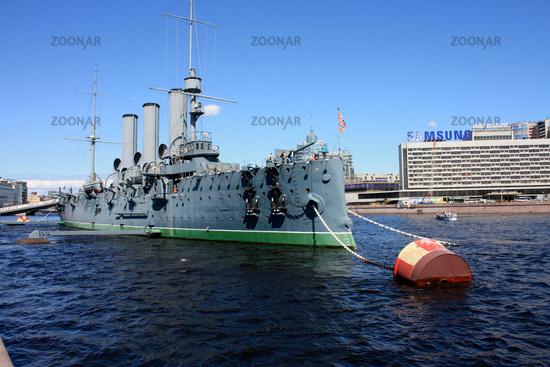 Armored cruiser  Aurora St Petersburg