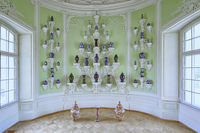 The Oval Porcelain Cabinet of Rundale Palace