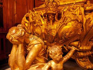Sculpture inside the Berlin cathedral, Germany