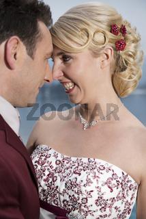 Portrait eines Brautpaares