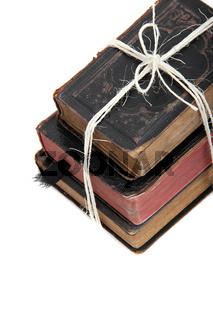 Bündel alter Bücher