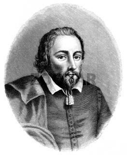 Philip Massinger, 1583 - 1638, an English playwright