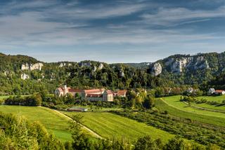 Kloster Beuron, Benediktiner Erzabtei, Schwäbische Alb, Baden-Württemberg, Deutschland