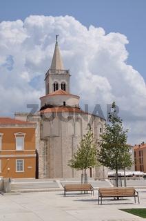 Römisches Forum und Donatuskirche in Zadar