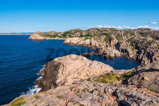 Landschaft auf der Halbinsel Lindesnes in Norwegen