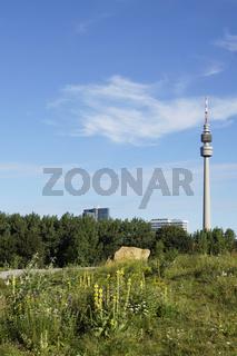 Skyline und Wahrzeichen von Dortmund, Deutschland