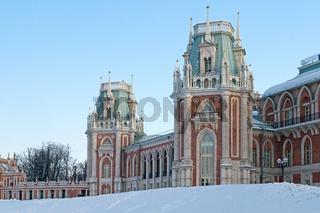 Main palace of Tsaritsyno estate