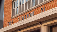 Fire station 21 in St Louis - ST. LOUIS, USA - JUNE 19, 2019