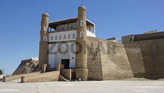Zitadelle Ark, Seidenstrasse, Buchara, Usbekistan