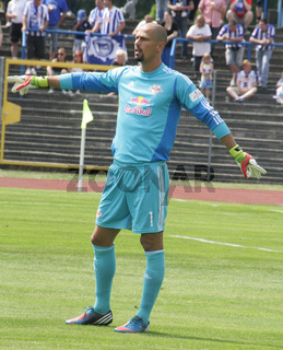 Torwart Fabio Coltori (RB Leipzig) beim Benefizspiel RB Leipzig - Hertha BSC am 13.07.2013 in Dessau