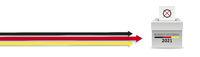 3 Arrows Vote Bundestagswahl 2021