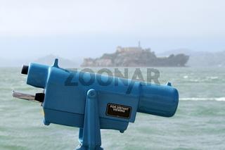 Münze Teleskop