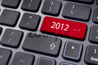 new year 2012, keyboard concepts