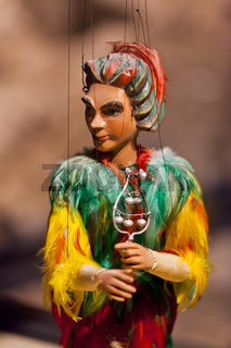 Marionetten im Marionettenmuseum