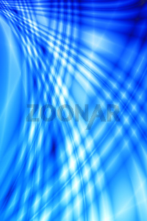 smoothed and blurred abstract wave of blue-white color