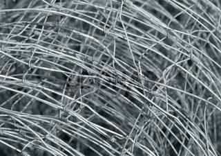 mesh wire fence detail