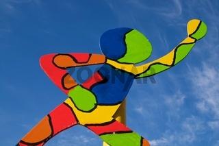 Kunstleitpfosten zur Landesgartenschau in Nagold