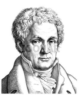 Johann Ludwig Tieck, 1773 - 1853, a German poet, writer, editor